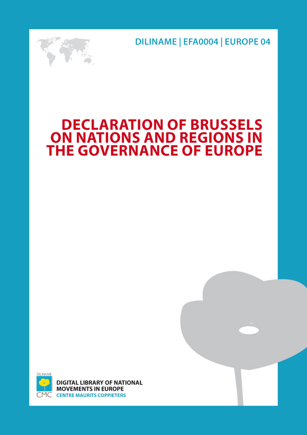 Sovereignty, Social Justice, Subsidiarity. Towards a Europe of diversity (2004)