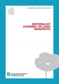 Nacionalist Assembly of Lugo Manifesto