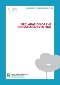 Declaration of the Brussels Convention