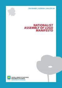Nacionalist Assembly of Lugo Manifesto