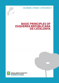 Basic Principles of Esquerra Republicana de Catalunya