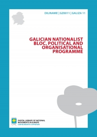 Galician Nationalist Bloc. Political and organisational programme
